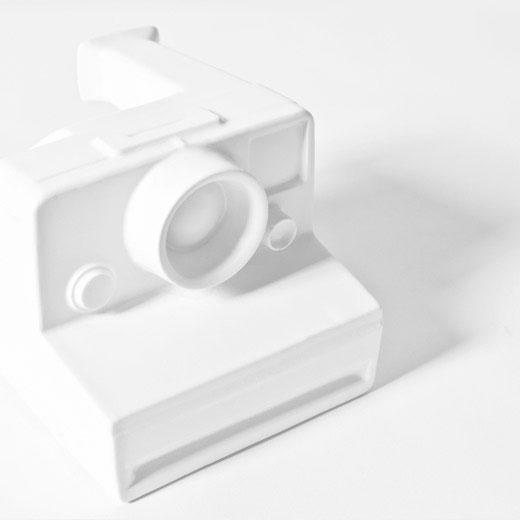 shooting polaroid
