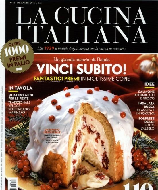 La Cucina Italiana dicembre 2015