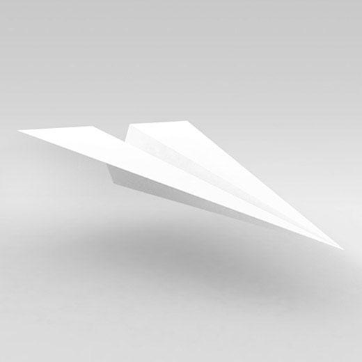 productions - paper plane