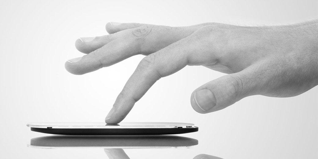 web - touchscreen