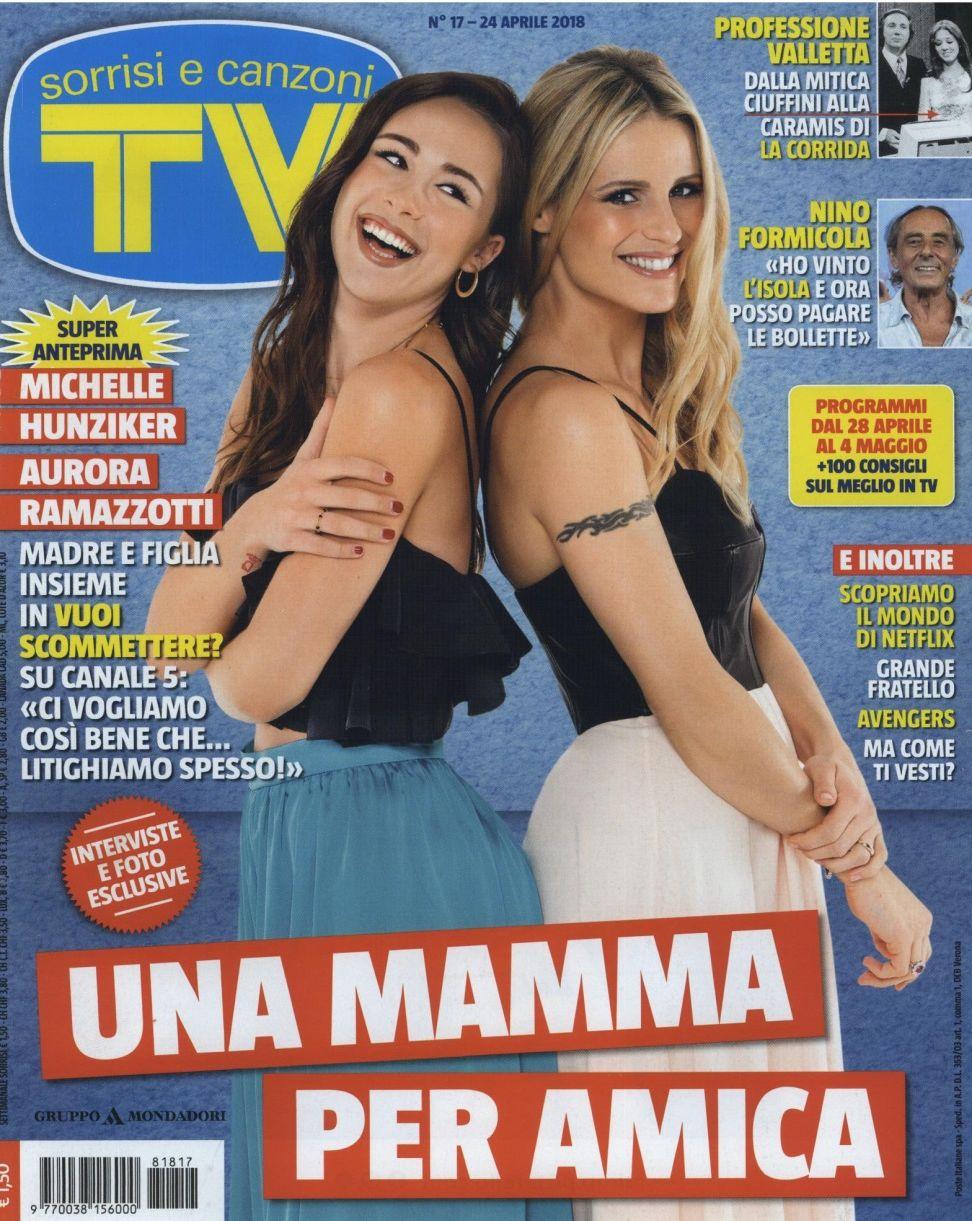TV Sorrisi e Canzoni_Aurora Ramazzotti