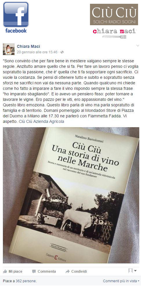 Chiara Maci Facebook
